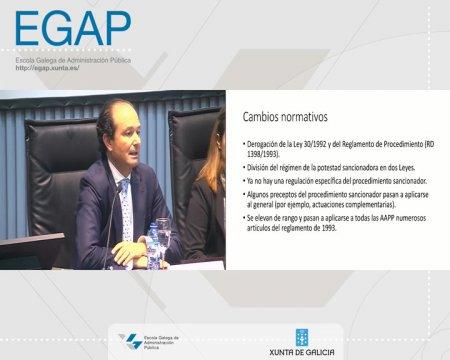 A potestade sancionadora - parte 1 - As Leis 39/2015 e 40/2015 do Procedemento Administrativo Común (LPAC) e do Réxime Xurídico do Sector Público (LRXSP)